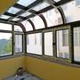 铝包木阳光房