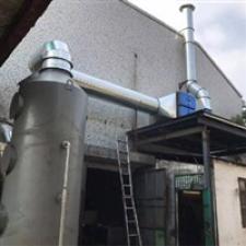 杭州铝压铸废气处理环保设备