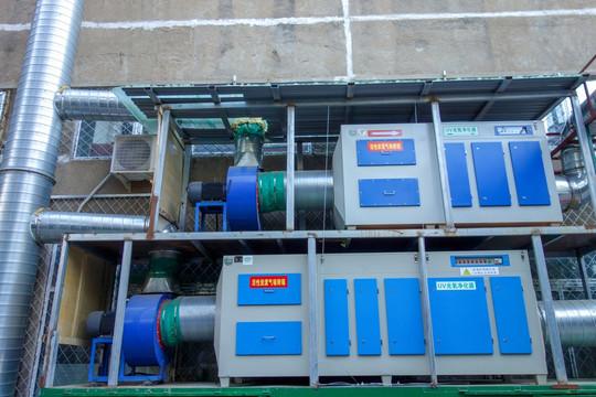 干式废气处理设备