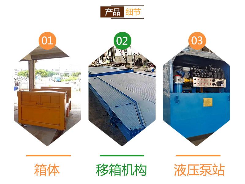 环卫垃圾转运站-分体式垃圾中转站收集设备