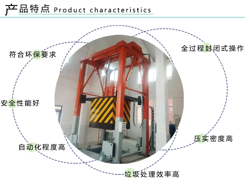 压缩垃圾站 垂直式垃圾压缩设备 垃圾转运站造价清单