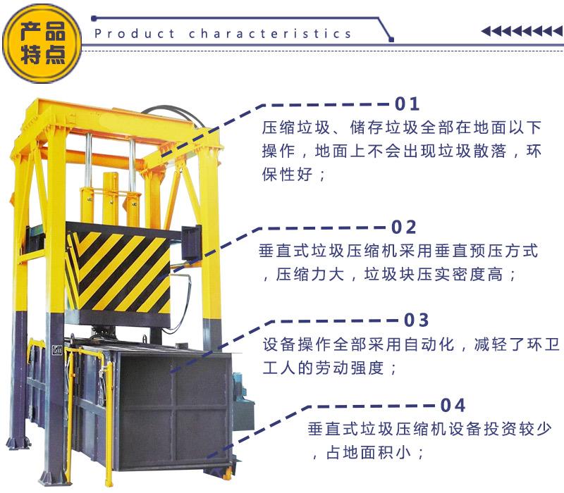 压缩式垃圾站 固定式垃圾转运设备 垃圾中转站造价清单