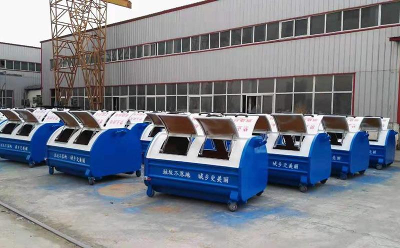 车厢可卸式移动垃圾箱