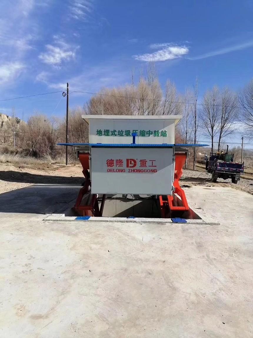隐蔽式地埋升降式垃圾压缩站的优势