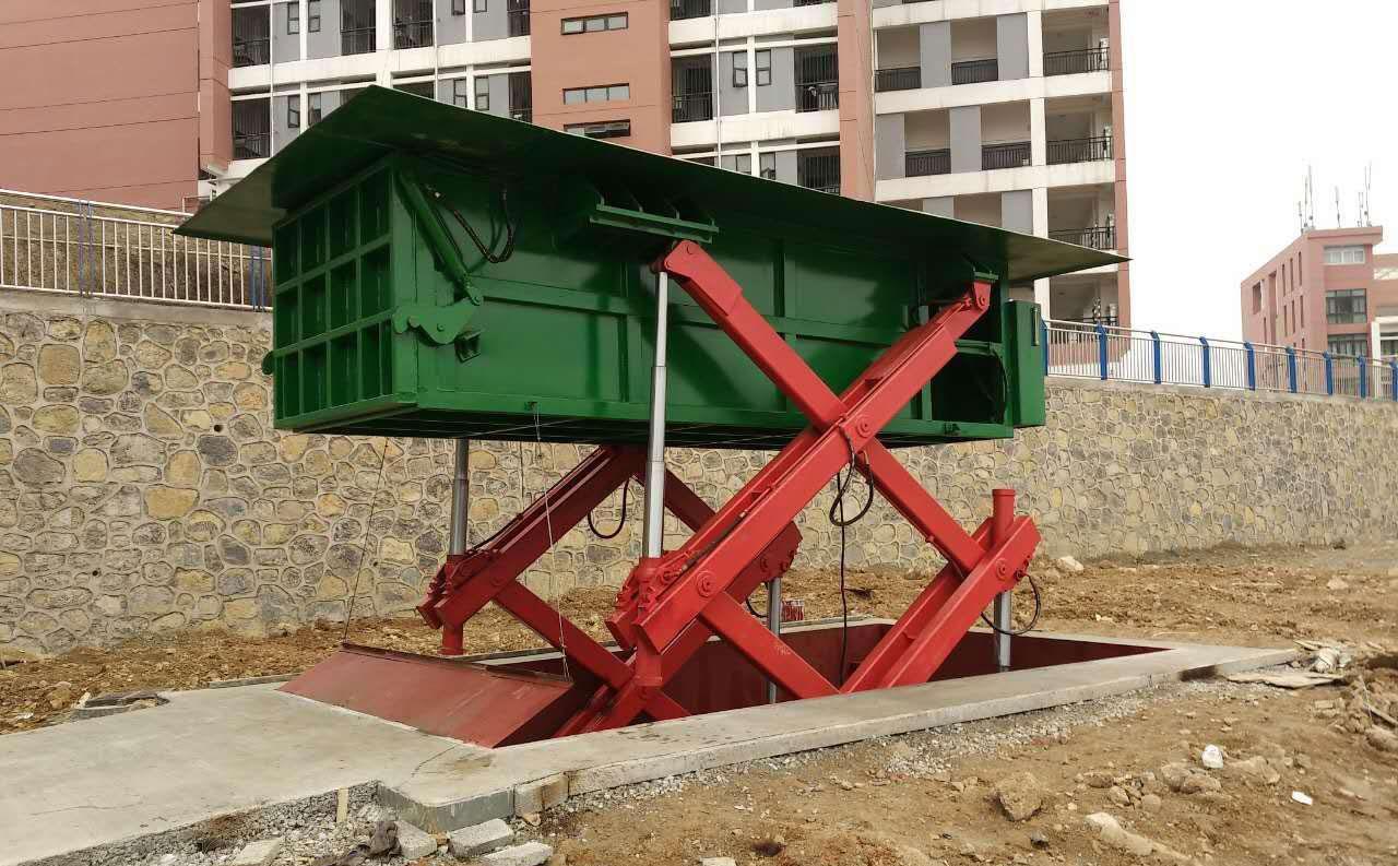 地埋式水平垃圾压缩机