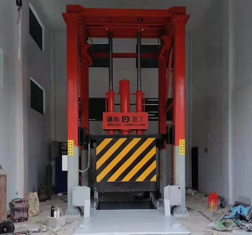 垂直式垃圾压缩设备一天能处理多少垃圾?
