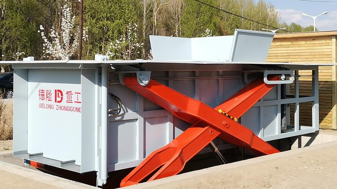 地埋式垃圾压缩站的优势