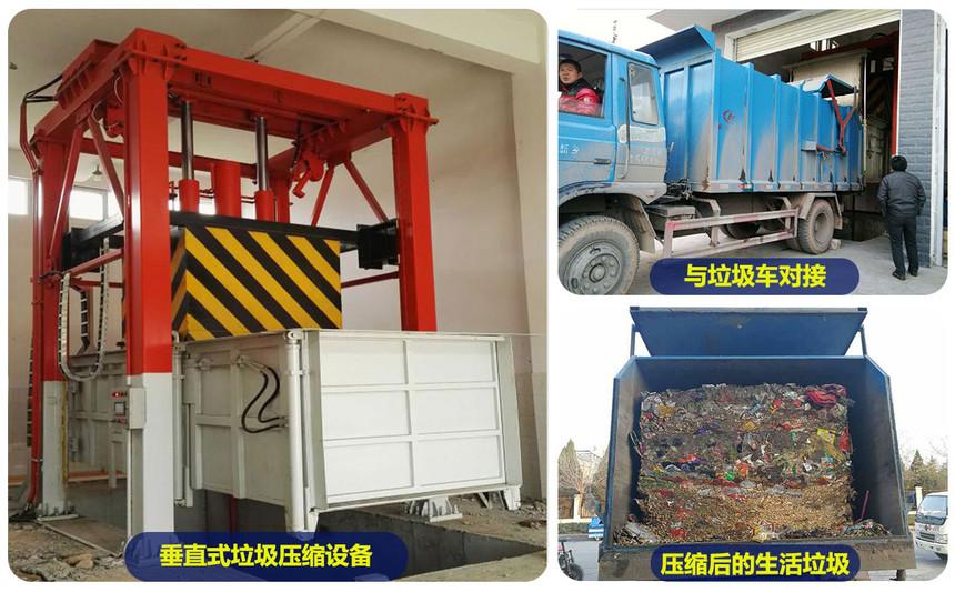 垂直式垃圾压缩设备产品简介