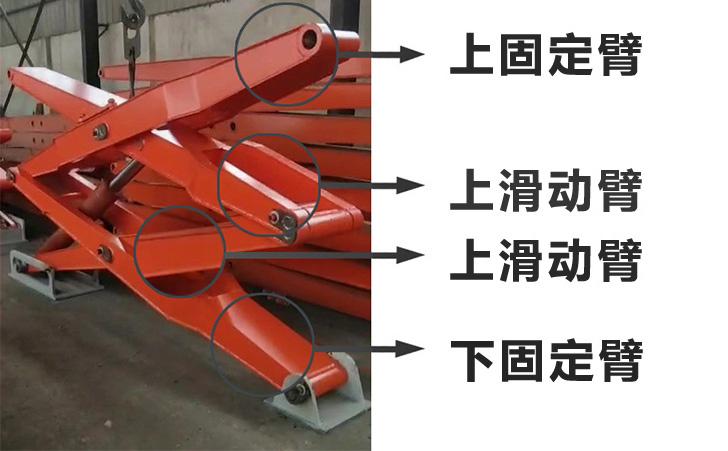 两侧举升式水平压缩垃圾中转站举升绞架