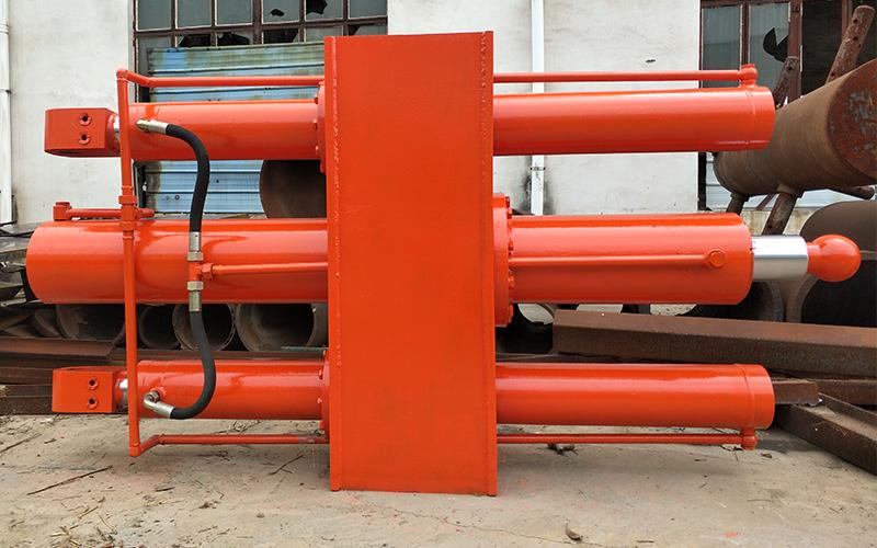 垂直式垃圾压缩设备液压油缸