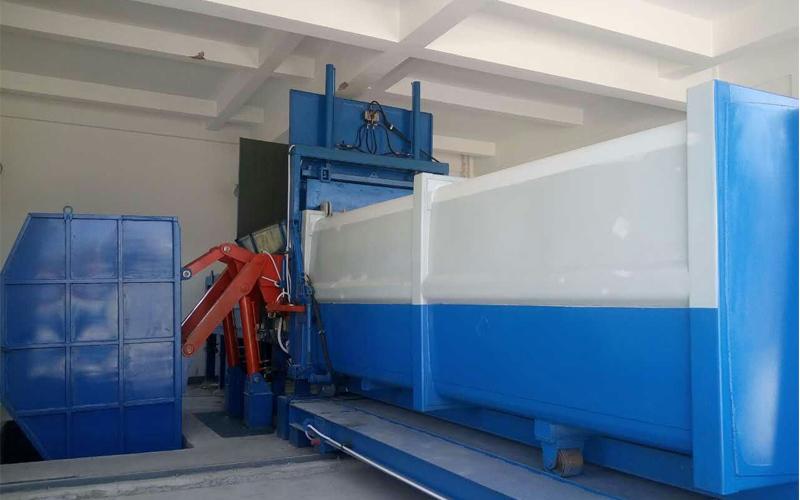 分体式垃圾收集设备在云南会泽县安装完毕