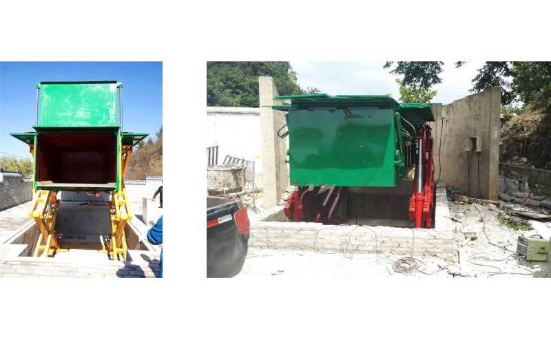 地埋式垃圾压缩机——生活小区用