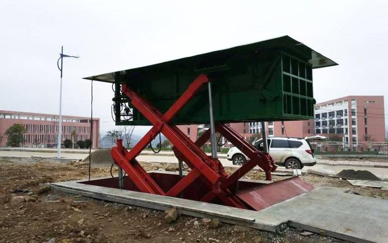 6立方下沉式垃圾压缩机产品生产工艺