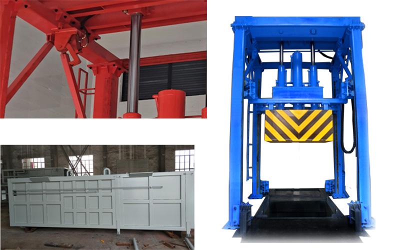 垂直式垃圾压缩站生产工艺