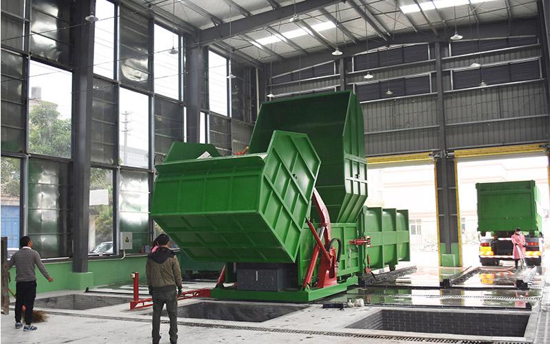 分体式垃圾压缩站产品结构