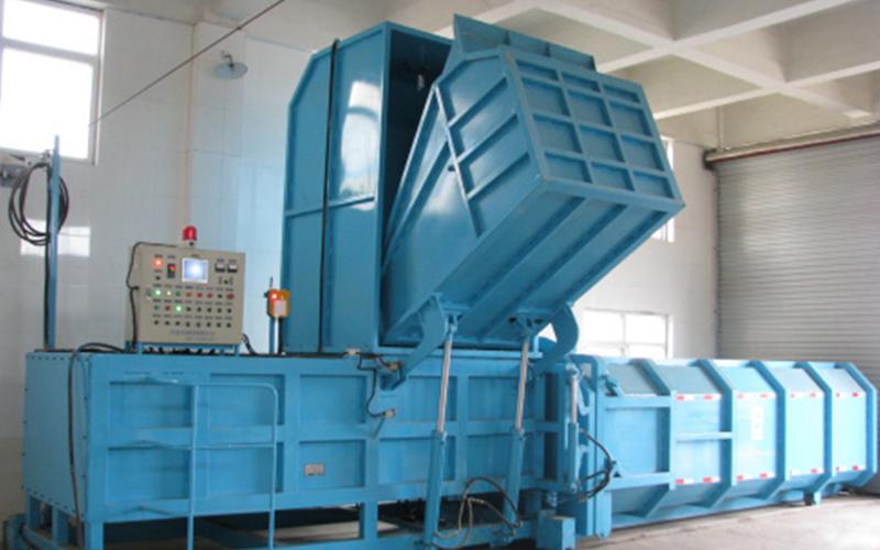 斜压式垃圾站设备主要特点