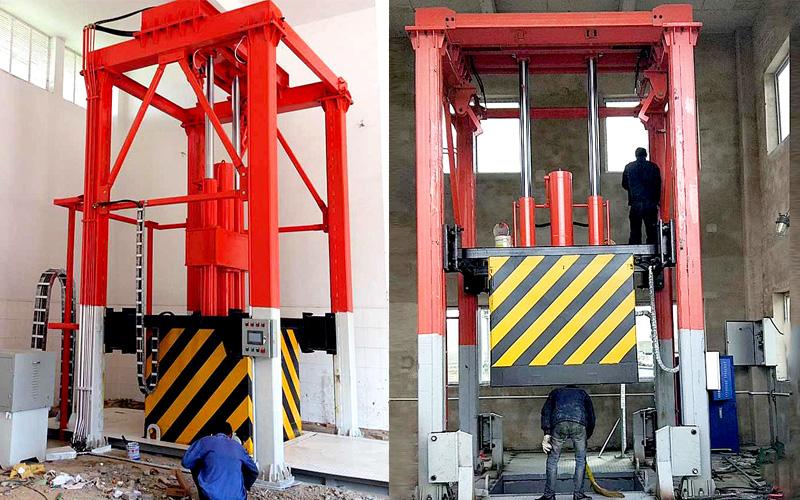 垂直式垃圾转运站设备