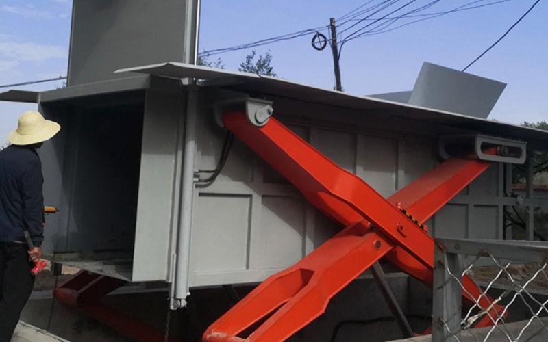 小型地埋式垃圾压缩箱
