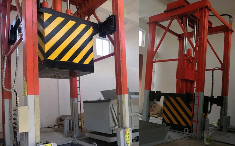 垂直式垃圾压缩设备出现故障该怎样排除