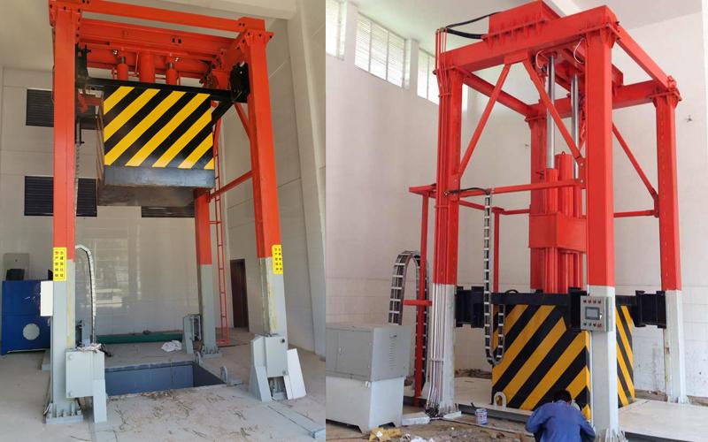垂直垃圾中转站结构组成及分析