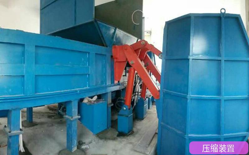 分体式垃圾中转站设备结构解析