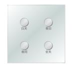 4键轻触智能面板