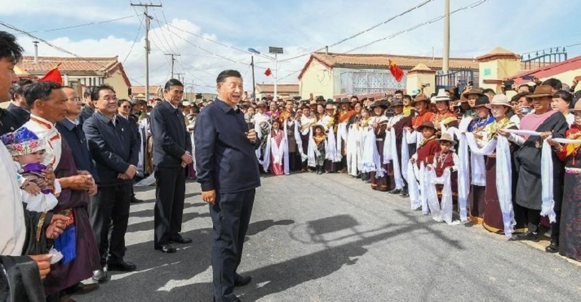 习近平在青海考察时强调:坚持以人民为中心深化改革开放 深入推进青藏高原生态保护和高质量发展