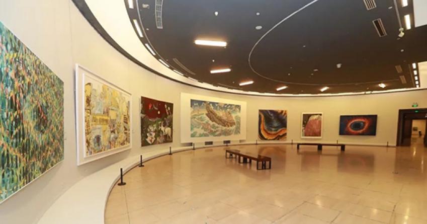 多彩世界与共同命运:第八届中国北京国际美术双年展启幕