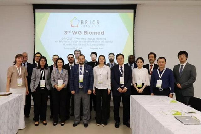 第三届金砖国家生物技术和生物医学工作组会议 曾争教授(右二).jpg