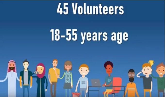 mRNA-1273疫苗人体试验有45名18-55岁的志愿者参加.jpg