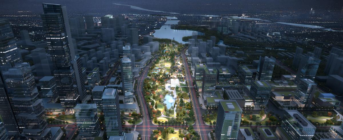 西咸能源金贸区中央公园及地下空间综合开发工程PPP项目