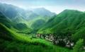 青山绿水茶果满坡,重庆市忠县石子乡