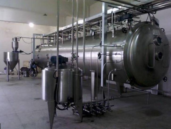 低温带式连续真空干燥机