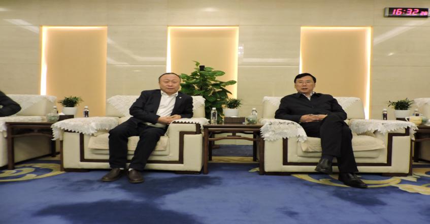 陕西省副省长魏增军亲切接见刘宏良先生