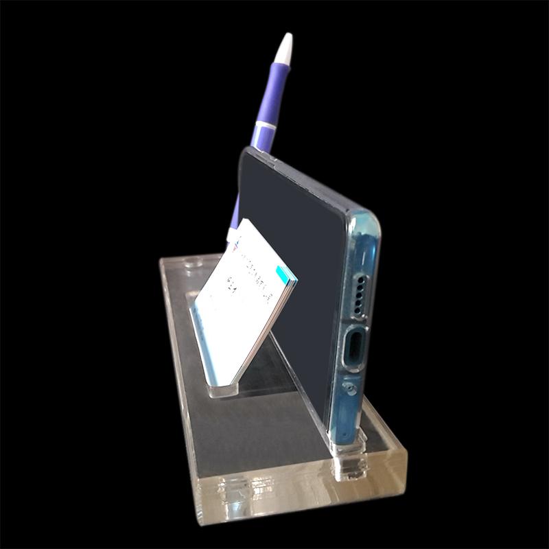 手机名片钢笔台