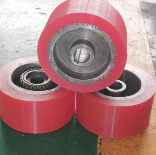 聚氨酯包胶轮工艺流程和聚氨酯胶轮在穿梭车上应用