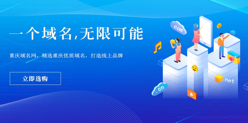 重庆域名网www.cqyuming.com今日正式上线运行!