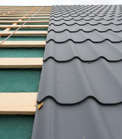 金属屋面防水层