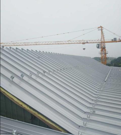 直立锁边铝镁锰板金属屋面系统安装