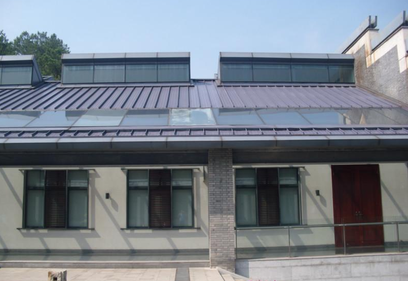 金属屋面钛锌板屋面