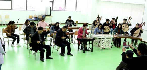 弦索乐实训室