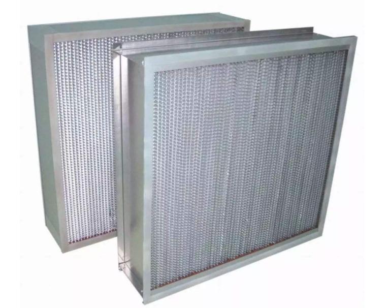 高效不锈钢空气过滤器