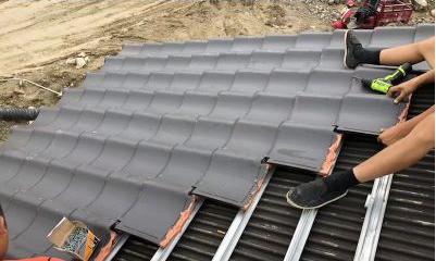 屋面水泥瓦施工