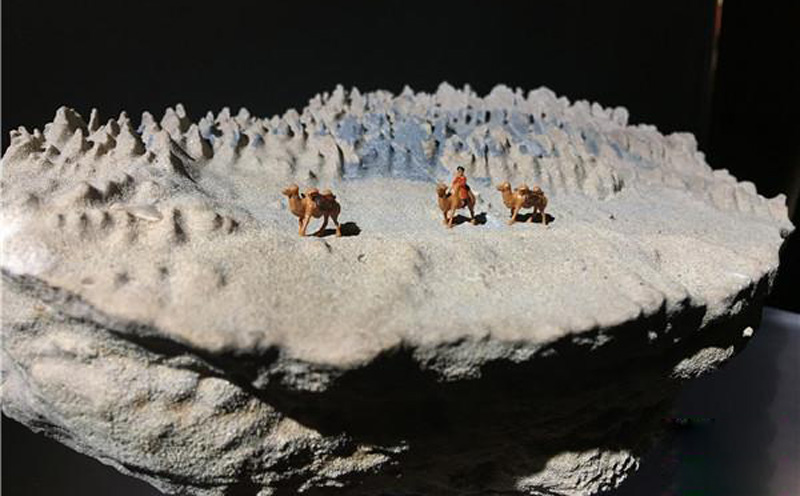深圳赏石文化艺术节开幕 欣赏来自戈壁荒漠的奇石