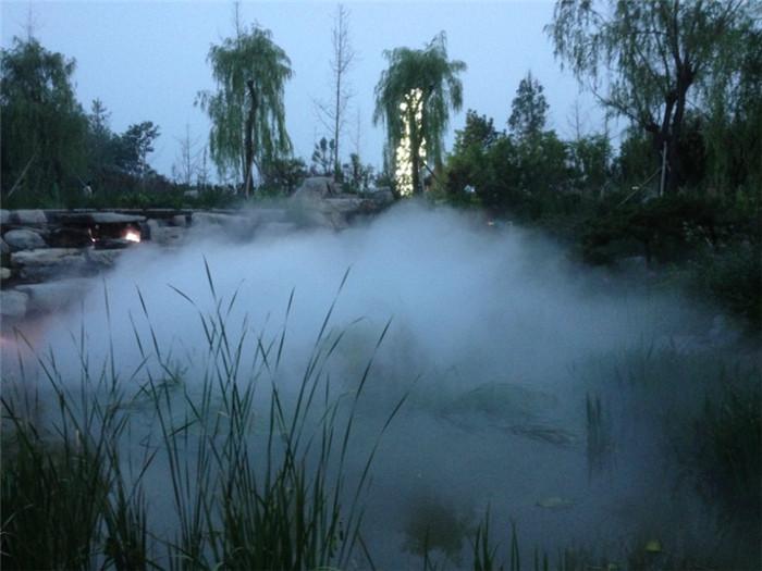 景观造雾突破传统造雾方式