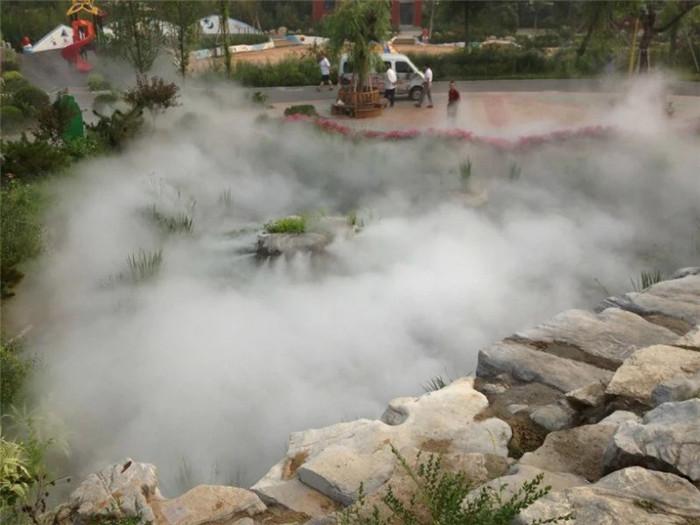 人工造雾设备在温室栽培领域作用显著