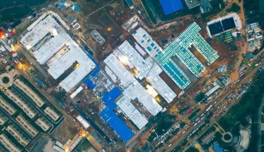 火神山医院建设