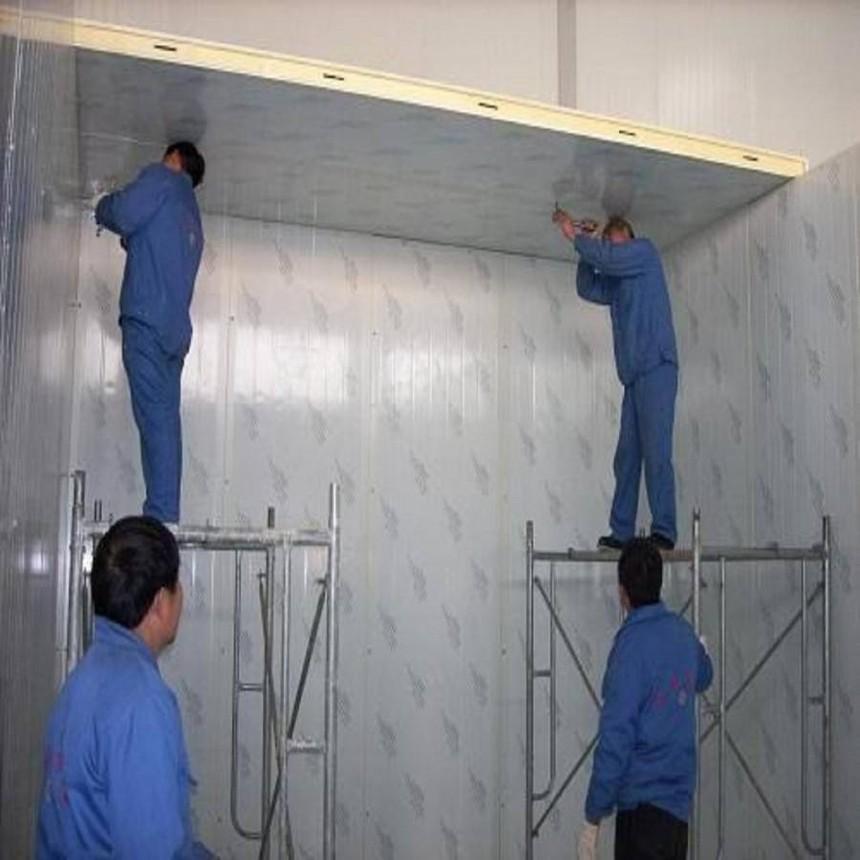 冷库天板安装