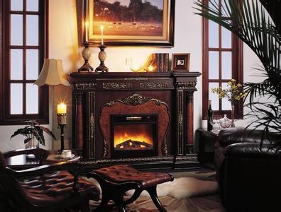 真火壁炉,燃木壁炉,别墅壁炉