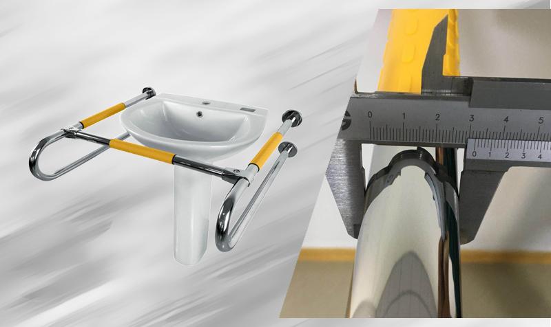 SH3802 洗手盆扶手的细节
